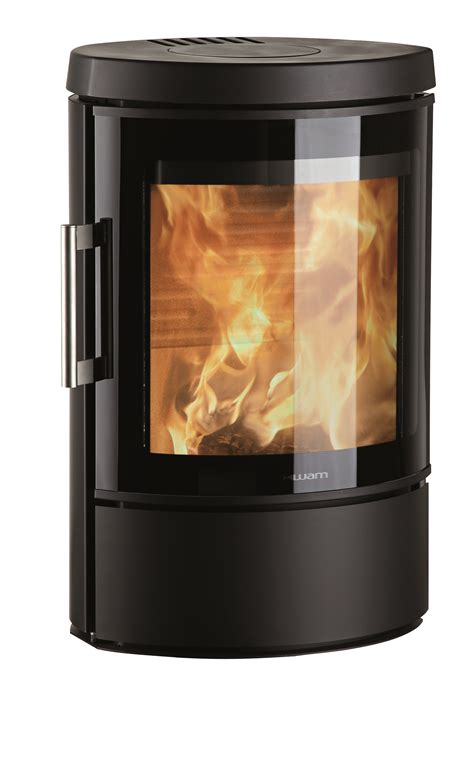 Stove Door Glass Hwam 3110 Wood Stove With A Energy Rating Stoves More