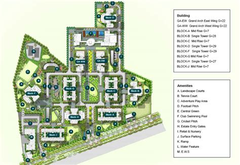 Of New Master Mba Course Plan by Ireo Grandarch Master Plan Ireo Projects In Gurgaon