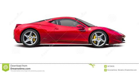 ferrari sketch side view image gallery ferrari 458 side