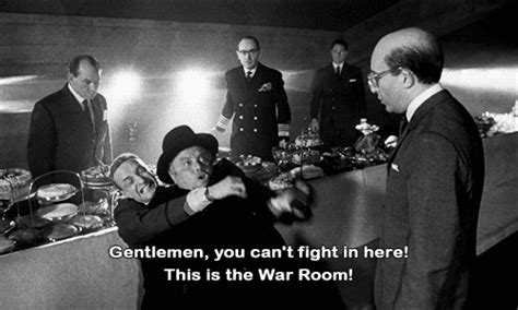 No Fighting In The War Room by Sellers Presents The Cold War Silver Screenings