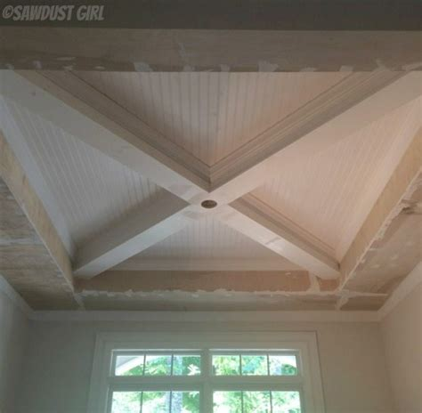 What Color Should I Paint The Ceiling by How To Build A Box Beam Ceiling Sawdust 174
