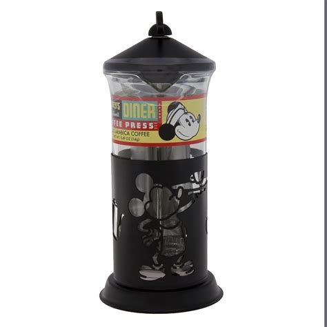 Disney Discovery  Mickey Mouse French Coffee Press Set
