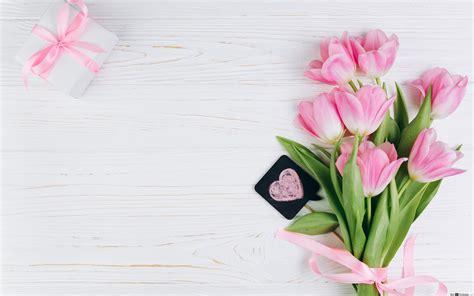 tulipan csokor virag hd hatterkep letoeltese