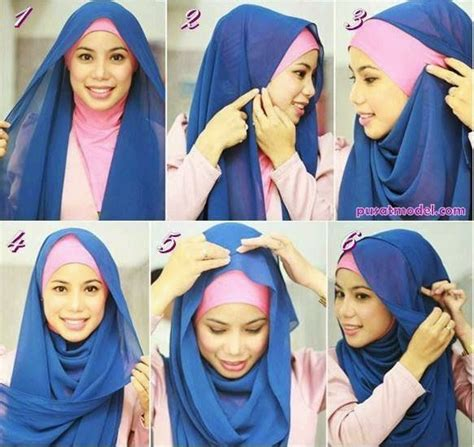 tutorial jilbab pashmina the 25 best tutorial hijab modern ideas on pinterest