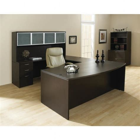 espresso office desk napa espresso laminate desk suite from markets west office