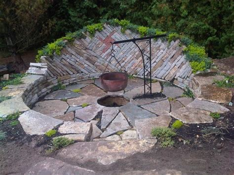 backyard rock fire pit ideas inspiration for backyard fire pit designs backyard