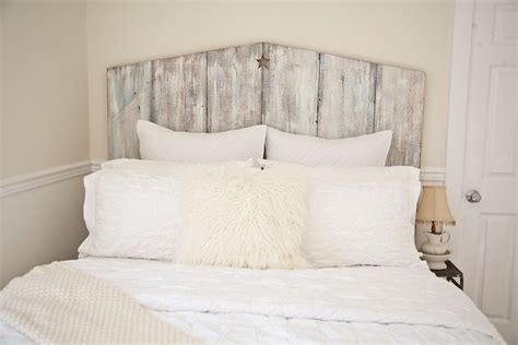 cottage headboard queen tricia reclaimed wood beach cottage headboard
