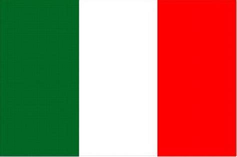 Blus Vinzo italian flag colors