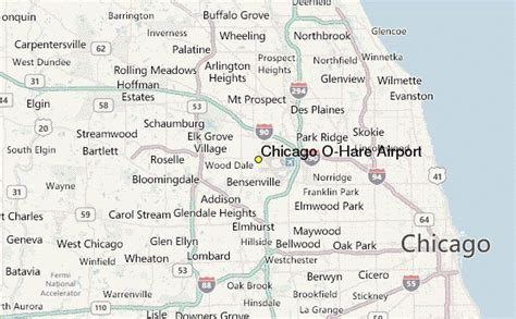 chicago map with airports chicago o hare airport weather station record historical