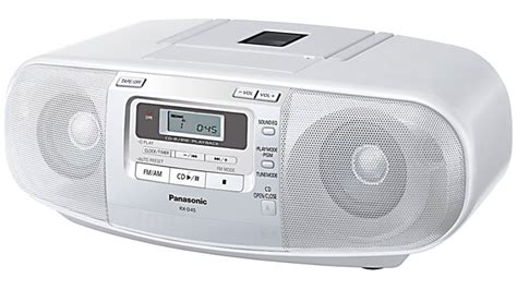cd cassette player buy panasonic rxd45 cd radio cassette player harvey