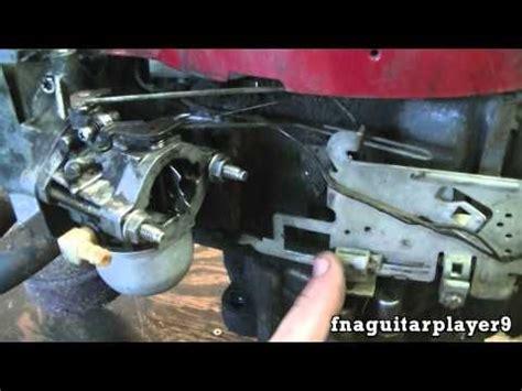 throttle  choke linkage  setup   briggs  piece carburetor  engine youtube