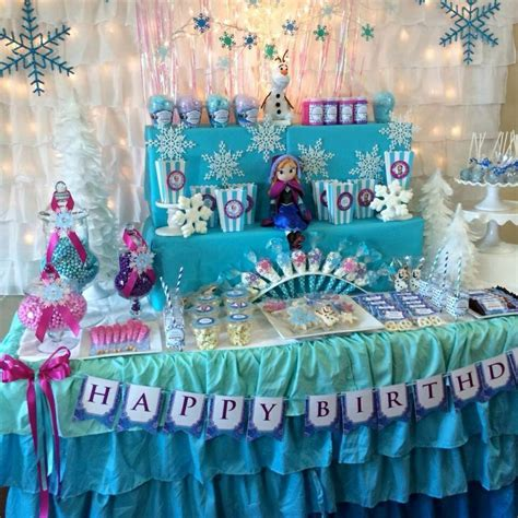 frozen decorations ideas best 25 frozen table ideas on frozen