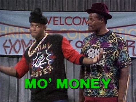 Mo Money Meme - gif 1k mine mvp damon wayans in living color keenan ivory