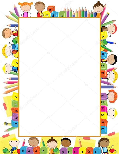 colored picture frames colored frame for children stock vector 169 justaa 119566298
