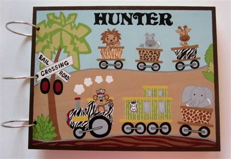 Baby Shower Express by Lambs And Safari Express Baby Shower Guest Book