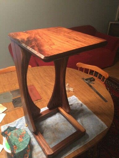 sofa snack tables sofa snack table brown wood snack table a sofa