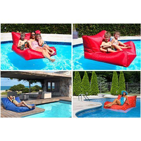 floating bean bag uk swimming pool floating bean bag indoor outdoor waterproof