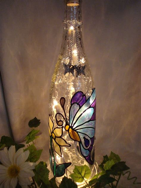 craft lights for wine bottles best 25 wine bottle ls ideas only on pinterest