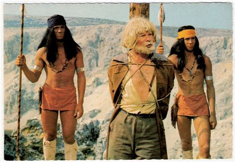 film gratis winnetou winnetou i ralf wolter german postcard e 22 photo