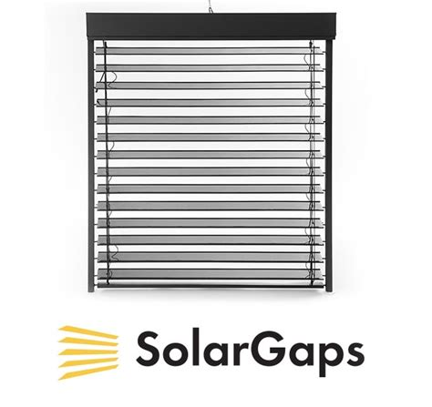 solar window curtains solargaps energy generating smart solar blinds indiegogo