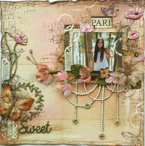 Scrapbook Page Tutorial | 39 best images about gabrielle pollacco tutorials on