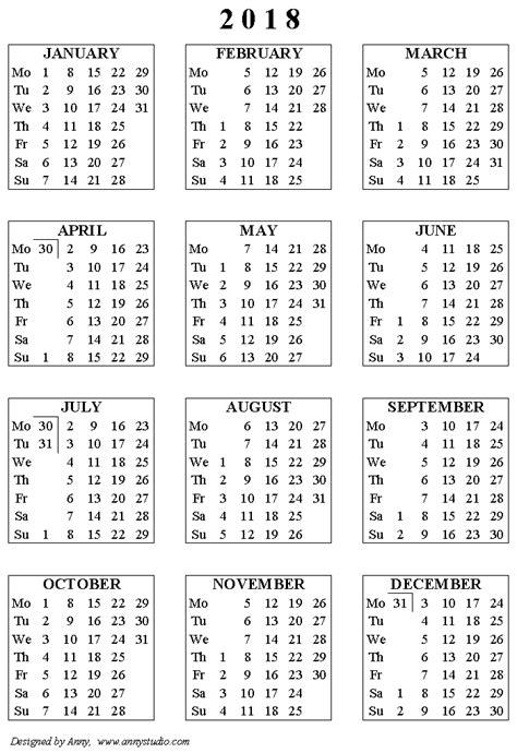 printable small calendar september 2018 calendar cute