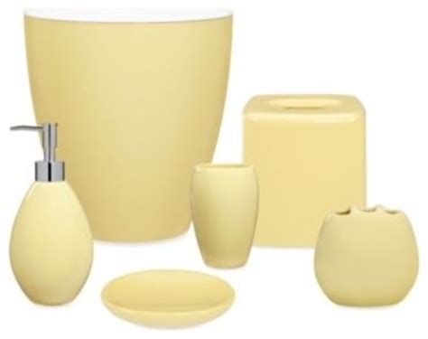 yellow bathroom set an overview of yellow bathroom accessories bath decors