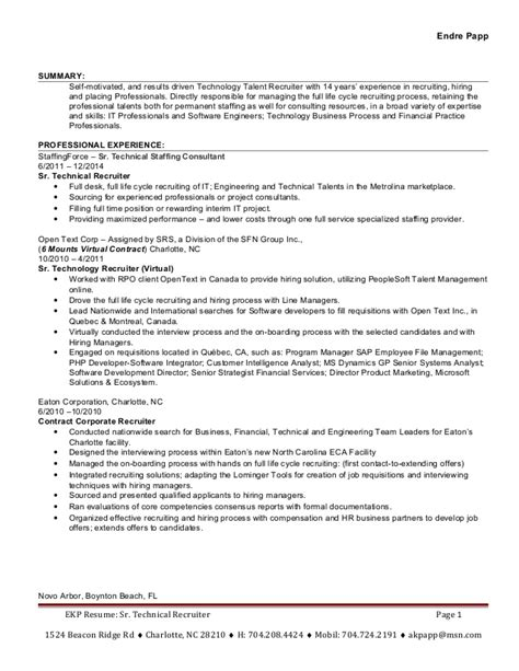 sle resume for it professional with 2 years experience sle resume trainer resume sle frudgereport104