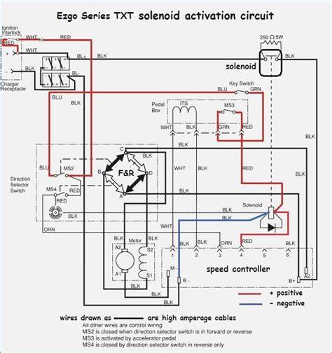 easy go golf cart wiring diagram wiring diagram with