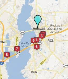 rockwall map rockwall tx hotels motels see all discounts