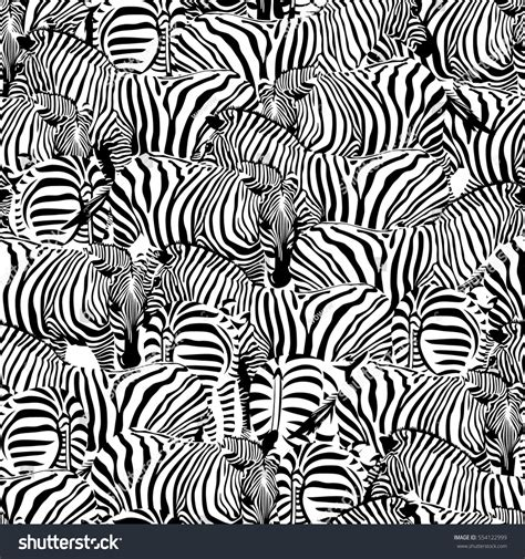 zebra pattern ornament zebra seamless patternsavannah animal ornament wild stock