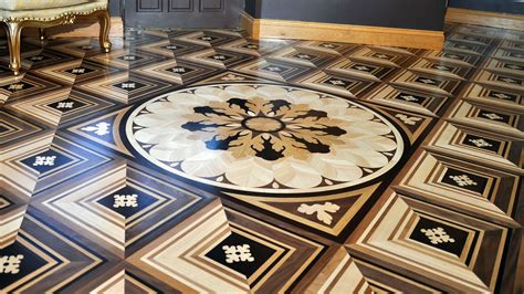 luxury wood flooring unique designs marquetry style london s bespoke wood flooring company