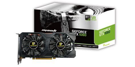 Manli Geforce Gtx1060 Gallardo 6gb Ddr5 product information manli