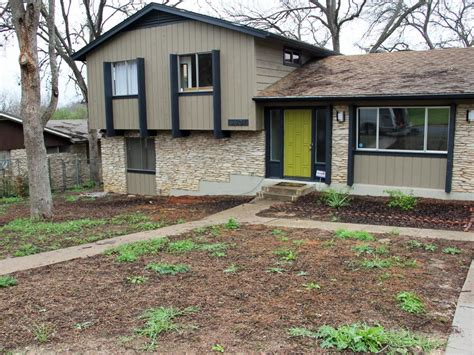 split level landscaping curb appeal curb appeal makeovers 20 before and after photos hgtv