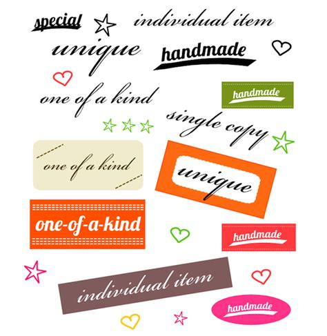 Is Handmade One Word - free digital one of a word sheet for card