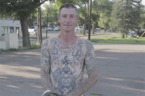 nazi tattoo removal an unlikely friendship made a neo remove his