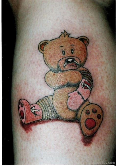 teddy bear tattoos designs teddy tattoos designs pictures page 3