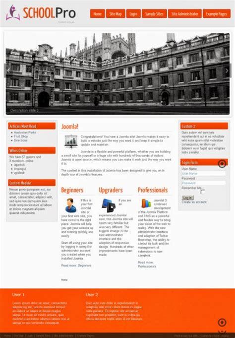 template joomla gratuit francais education ecole template joomla 3 x