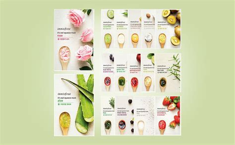 Masker Innisfree Di Korea k 246 pa innisfree it s real squeeze mask sheet mask k