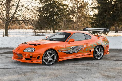 toyota supra fast and 1993 toyota supra from quot the fast and the furious quot sells