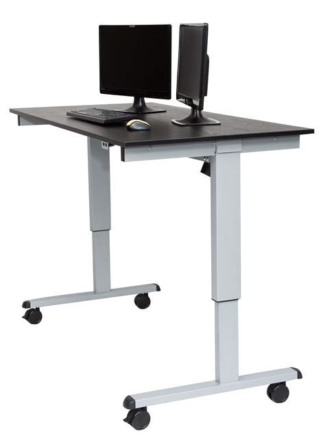 automatic standing desk luxor 60 electric standing desk notsitting