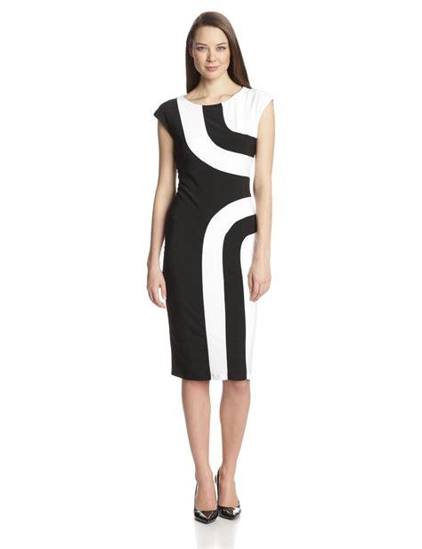 MSK Women?s Cap Sleeve Geo Color Block Dress ? Summer clothes