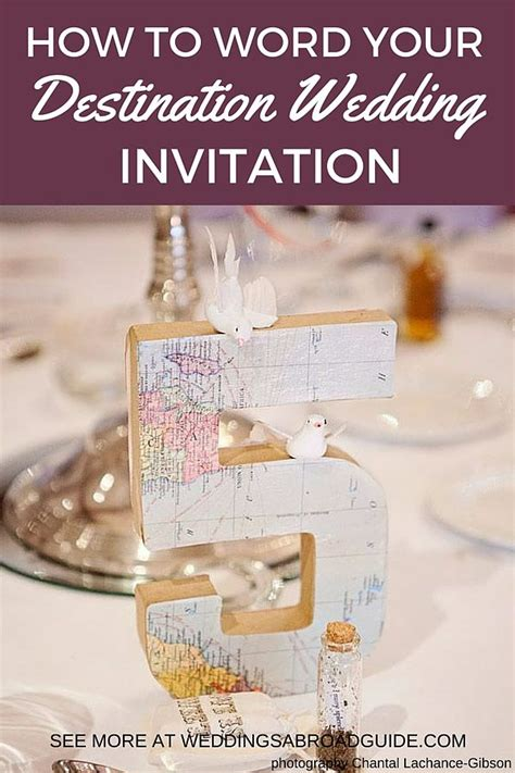 destination wedding invitation wording weddings  guide