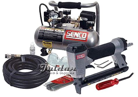 senco pc0973 air compressor sfw08 wire stapler kit on sale now