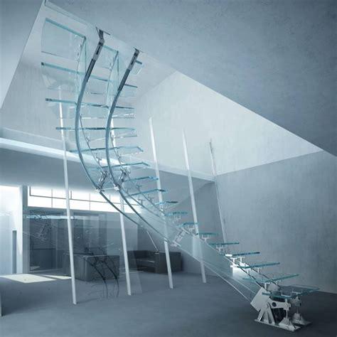 scale in vetro per interni scale in vetro e acciaio scale