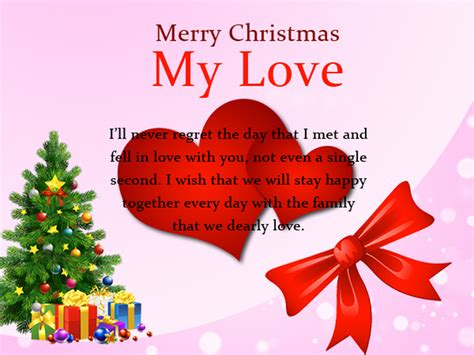 christmas love messages sweet romantic wishes wishesmsg
