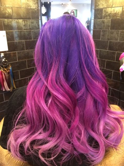 pink and purple ombre 6 hair chalk set archives hairchalk