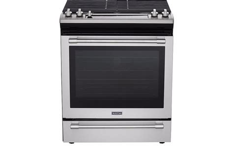 Oven Gas 1 Pintu mgs8800fz maytag 30 quot gas range convection self clean warming drawer