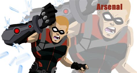 arsenal young justice arsenal by griff 84 on deviantart