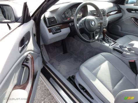 2000 bmw 3 series 323i convertible interior photo